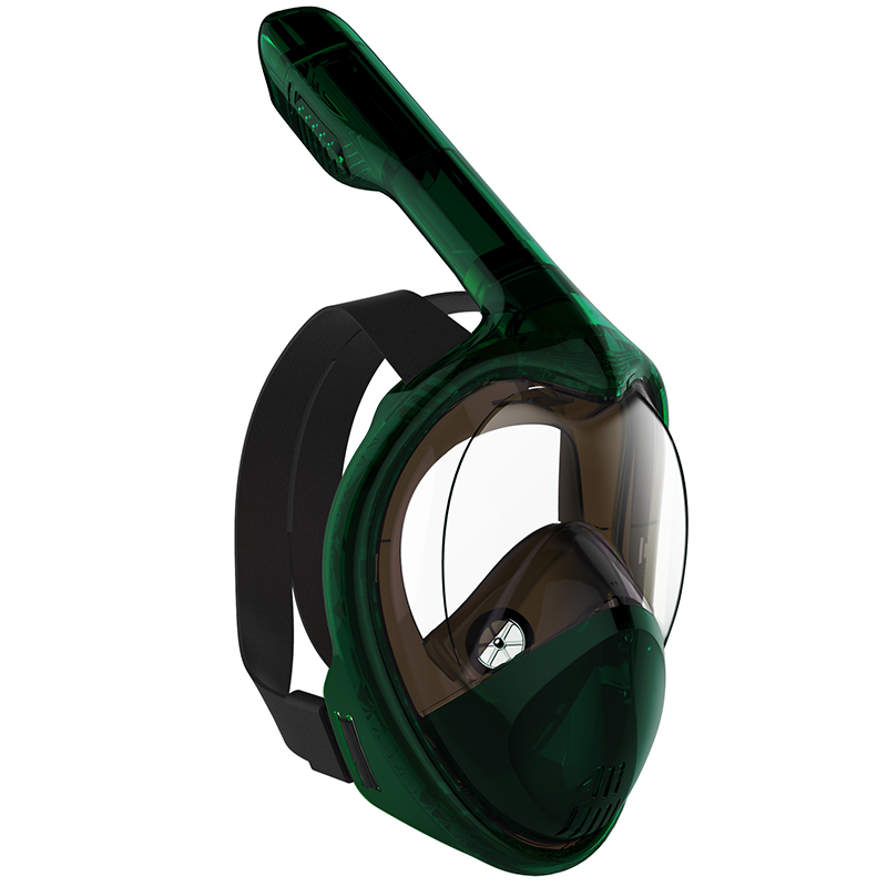 2019 MITO Diving Mask Scuba Mask Underwater Full Face Snorkeling Mask Anti Fog Panoramic Swimming Snorkel Diving Equipment GoPro in Diving Masks from Sports Entertainment