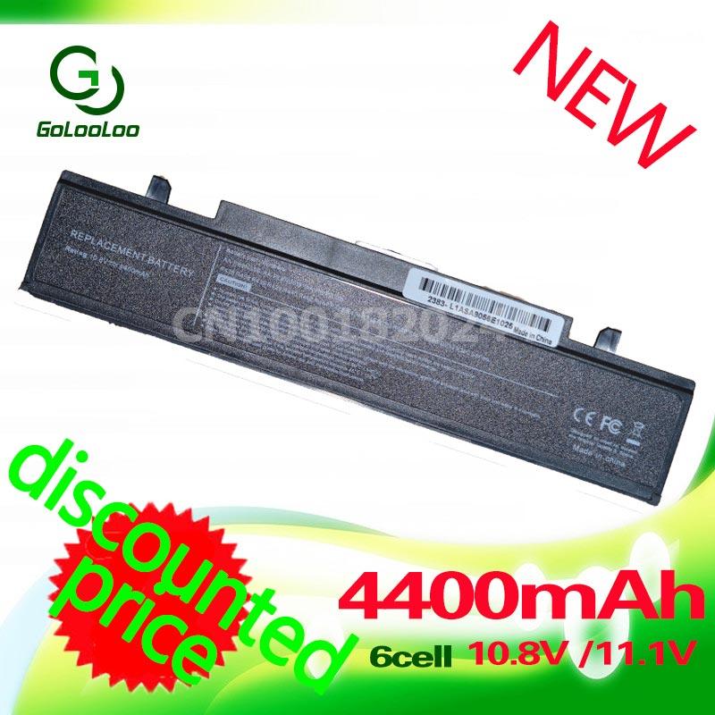 Golooloo 4400mah ноутбуктері үшін Samsung R428 R429 R468 NP355V5C AA PB9NC6B AA PB9NS6B AA-PB9NS6W AA-PB9NC6W AA-PL9NC6B RV520