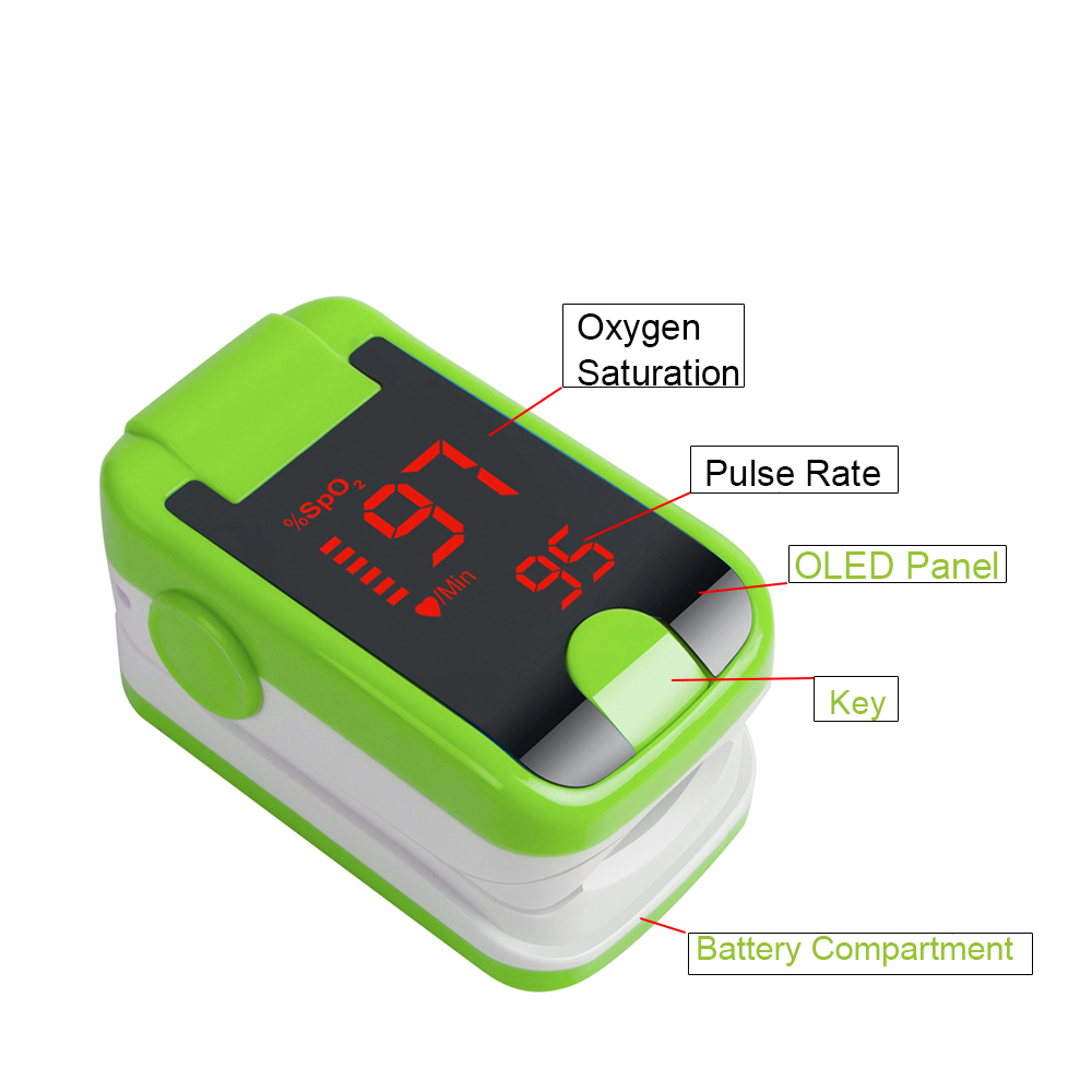 Health care CE FDA Finger Pulse Oximeter monitor ,Oximetro de dedo oximeter Spo2 Blood Oxygen saturation Body monitor oxymeter- pro f4 finger pulse oximeter heart beat at 1 min saturation monitor pulse heart rate blood oxygen spo2 ce approval green