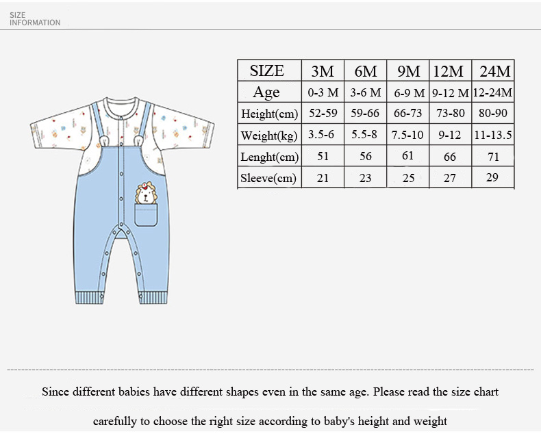 COBROO Newborn Baby Boy Clothes Rompers Cotton Cute Lion King Pattern Long Sleeve Baby Boy Jumpsuit 0-24 Month NY150103
