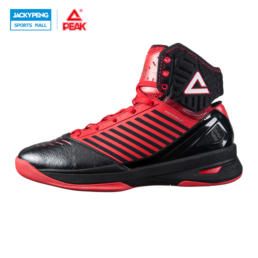 PEAK SPORT Speed Eagle Concept Models Men Basketball Shoes Cushion-3 SURFACE Tech High-Top Breathable Sneakers Boots EUR 40-48 peak sport star series george hill gh3 men basketball shoes athletic cushion 3 non marking tech sneakers eur 40 50