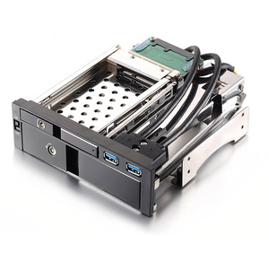 Uneatop Optibay aluminum casing 2.5 SATA HDD/SSD enclosure and 3.5 SATA HDD storage rack USB3.0 HDD Mobile Rack