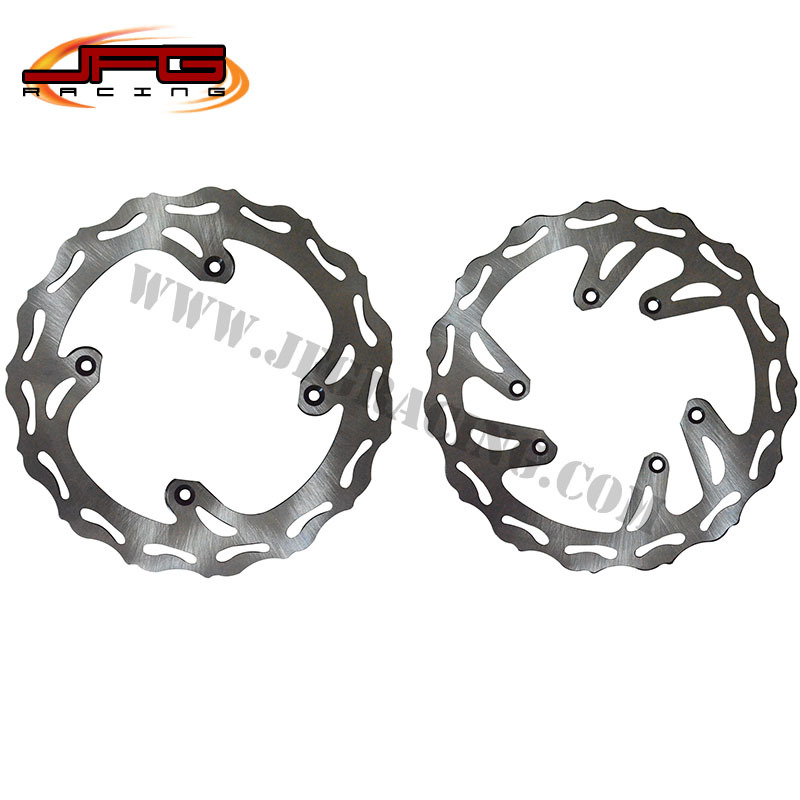 CRF125 250 450 MOTORCYCLE WAVE WAVY  BRAKE DISCS BRAKE ROTORS  цены