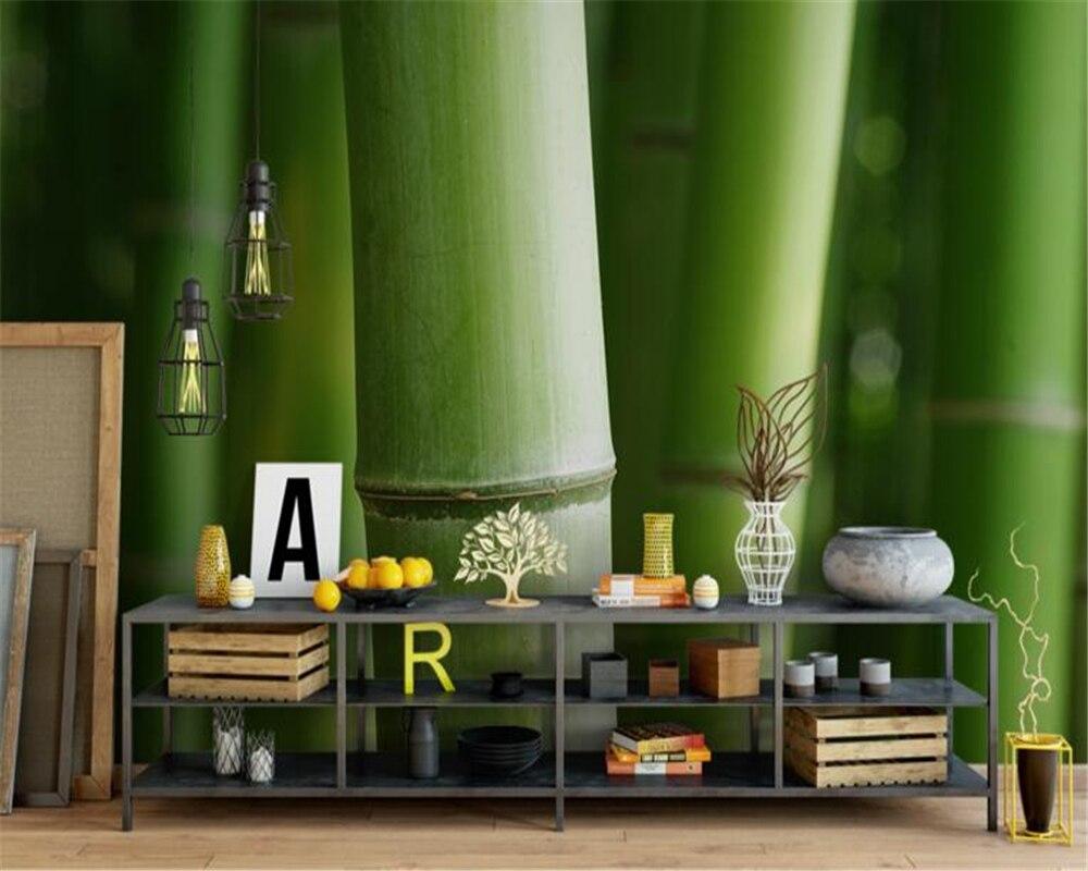 Online kaufen großhandel bambus tapete wandbild aus china bambus ...