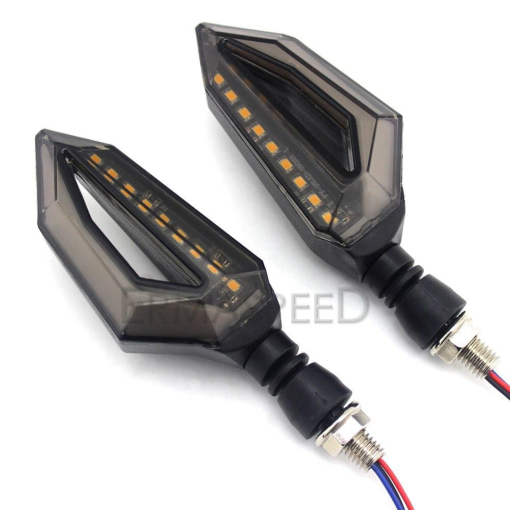 Motorcycle LED Turn Signal Lights (2)