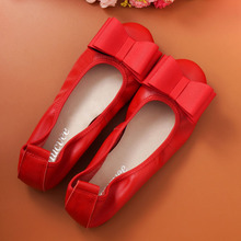Egg roll shoes genuine leather Women shoes mother shoes girls Slip-on fashion casual shoes comfortable breathable women flats