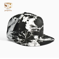 Ink Painting Flat Men Baseball Cap Cotton Fashion Hat Bone Snapback Women Hip Hop Cap