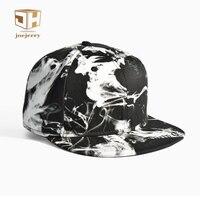 Ink Painting Flat Men Baseball Cap Cotton Fashion Hat Bone Snapback Women Hip Hop Cap