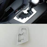 Car Styling ABS Gear Box Decorative Frame Sequins Car Accessories Decoration Cover For Toyota RAV 4 2016