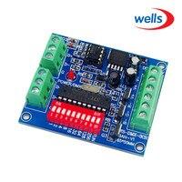 DC 5V 24V 3CH RGB Controller Channel Easy DMX DMX512 LED Decoder Dimmer Drive For LEDs