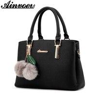 Ainvoev PU Leather Women Bag Luxury Handbags Women Bags Designer Casual Women S Bag 2017 New
