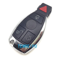 4 Buttons Remote Smart Car Key Case Shell Replacement For Mercedes Benz E550 ML350 SL65 E63