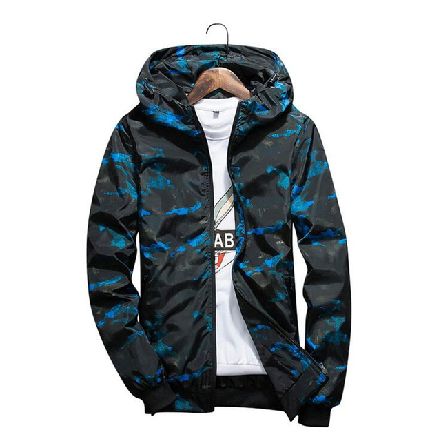 d1111fa79534c IGGY 2018 New Camouflage Jacket Men Plus Size Camo Hooded Windbreaker Jackets  Military Canvas Jacket Parka