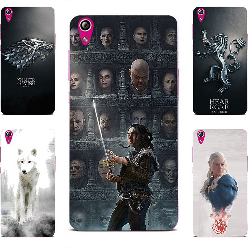 2941c9c6e405 GOT Game Of Throne House Stark Hard PC Painting Case For Lenovo Vibe X S960  P70 P70T S850 s850t S858T Cell Phone Printed Cover