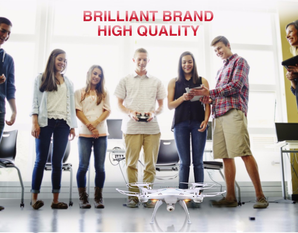 SYMA Official X5SW Drones with Camera HD WiFi FPV Real Time transmission RC Helicopter Quadrocopter RC Dron with Extra Battery 21