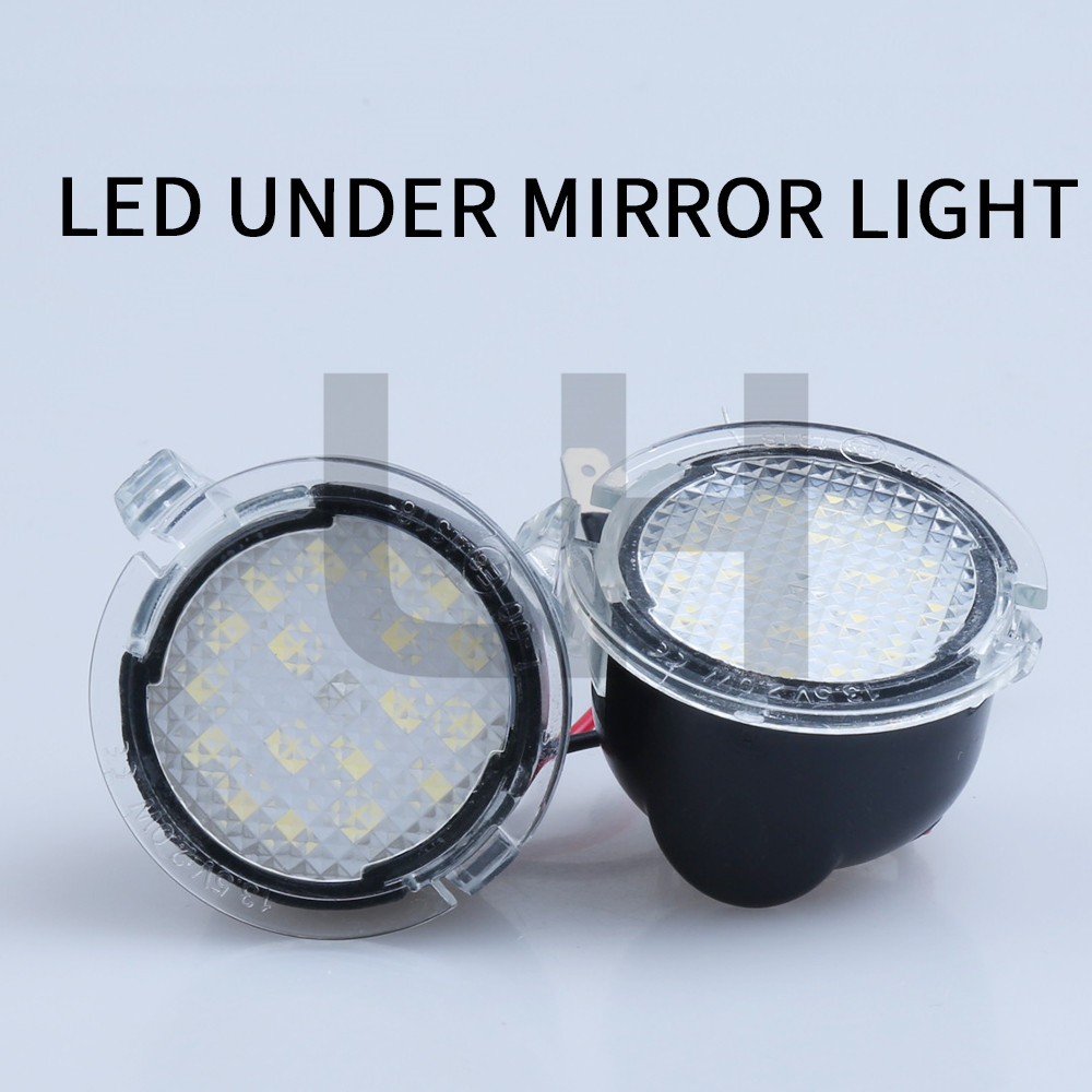 Pair Led Under Side Mirror Puddle Light Fit For Ford Edge