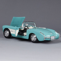 1:24 Chevrolet 1957 Classic Car Metal Model Vintage Automobile Toy Vehicle High Simulation Diecast Decoration Gifts