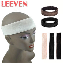 Velvet Fabric Hairband Casual Fashion Fixed Girl 25g/Pc 3 colors Adjustable Velvet Wig Grips Hair Band With Broadband