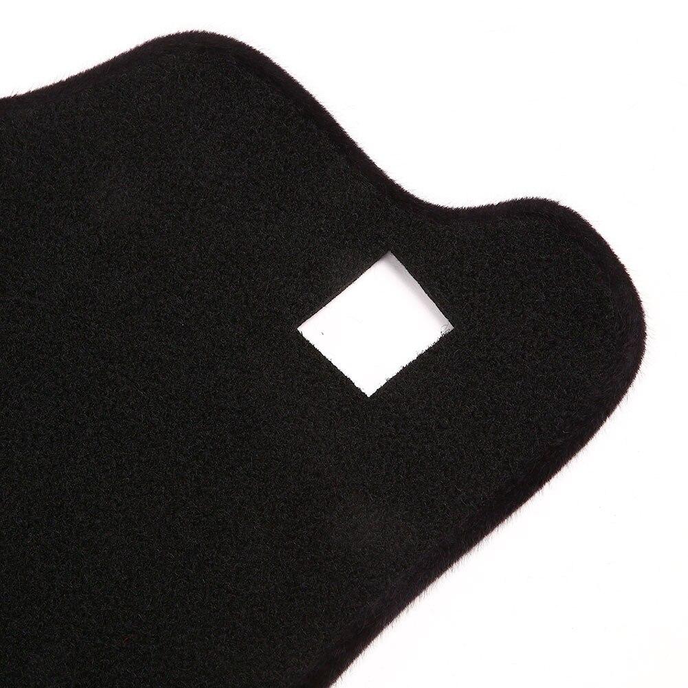 Vehemo фетр ткань приборной панели крышка приборной панели коврики тире коврики Pad Оттенки для Защита от Солнца Крышка Pad черный автомобиль интимные аксессуары