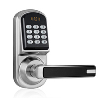 Yoheen Keyless Entry Electric Lock America Style Digital Keypad Passowrd Code Key Unlocking Smart Deadbolt Handle Door Locks