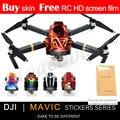 НОВЫЙ PGY наклейки кожи для Mavic pro Аксессуары 3 М водонепроницаемый ПВХ наклейки Летательный Аппарат С 4 К HD Камера RC Quadcopter Части
