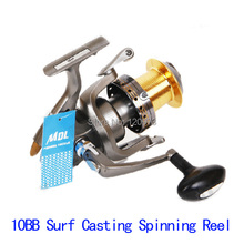 EY70F–10BB 4.1:1 Surf Casting Spinning Reel Long Shot Wheel Distant Wheel Big Wire Cup Long Cast Spool Reels