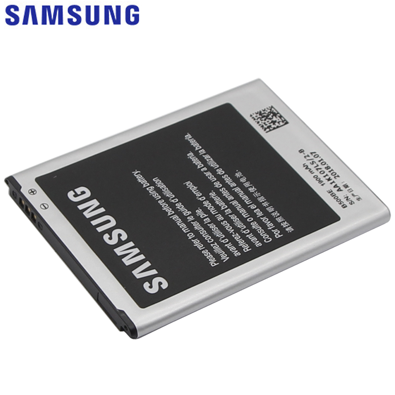 SAMSUNG B500BE Original Replacement Phone Battery For GALAXY S4 Mini I9190 I9192 I9195 I9198 S4Mini 1900mAh Battery 3 pins