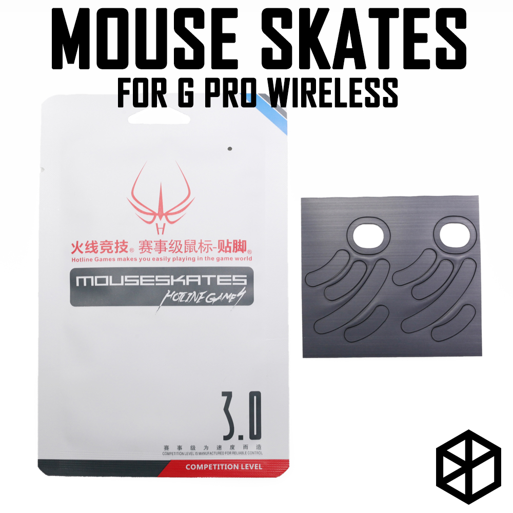 Hotline Games 2 Sets/pack Competition Level Mouse Feet Skates Gildes For Logitech G Pro Wireless 0.8mm Thickness Teflon