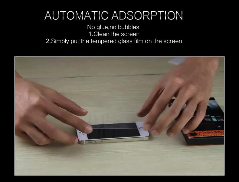 HTB1InthKpXXXXaGXVXXq6xXFXXXj - 9H tempered glass For iphone XR XS X 8 4s 5s 5c SE 6 6s plus 7 plus screen protector protective guard film case cover+clean kits