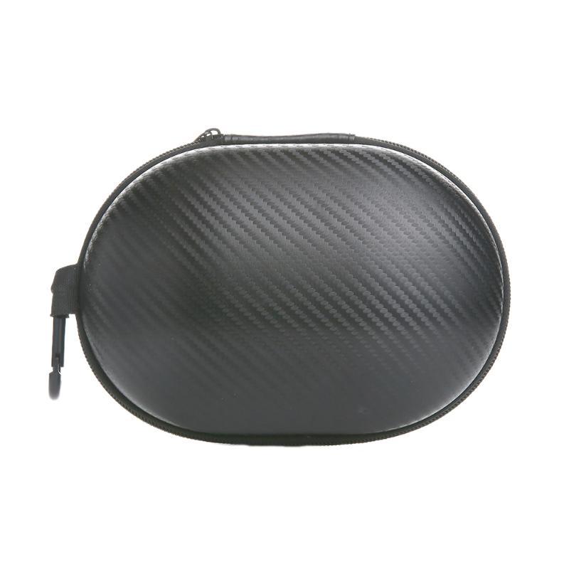 Nylon Hold Case Storage Carrying Hard Bag Box for Earphone Headphone Earbuds Headset Memory Card General Zipper Box