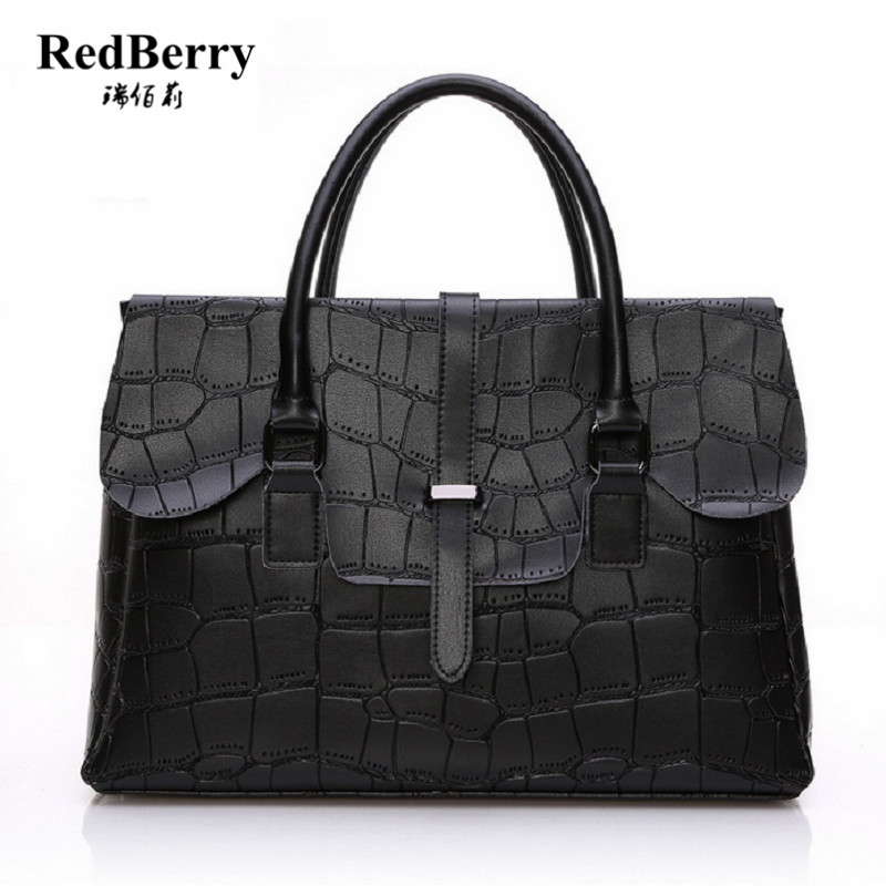 Women Bag 2016 Luxury Brand New Fashin Genuine Leather Shoulder Handbag Elegant Famous New Black Messenger Ladies Bolsa Solid 2016 fashin reversible skullies
