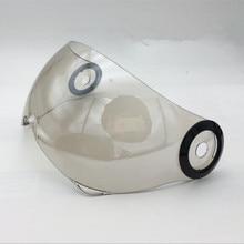 Бренд BEON открытым лицом шлем козырек объектив B-110 мотоциклетный шлем козырек зеркало материал ПК Анти-Уф moto шлем козырек