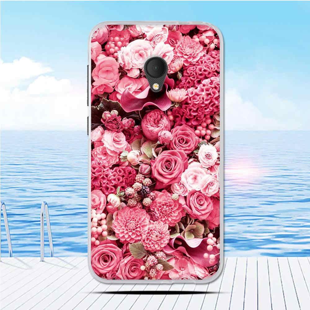 """Nouvelles coques de téléphone en silicone souple pour Alcatel U5 4G 5044D 5044Y housse pour Alcatel U5 4G 5044D 5044Y 5.0 """"Coque arrière"""