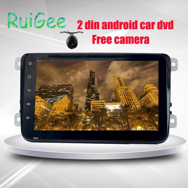 Android6.0 8 pouces 2 DIN 1024*600 voiture DVD GPS pour VW Passat B6/B7/Passat CC avec WiFi et carte gratuite Wifi MirrorLink