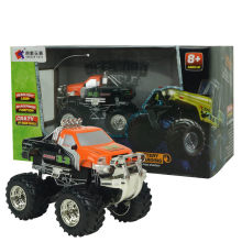 RC Car 2.4G 4CH RTR RC Car Alloy Structure Bigfoot Car Remote Control Model Off-Road Vehicle toys For Boys Kids Gift(China)