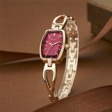 KIMIO relojes de mujer Mujeres Reloj Pulsera Reloj de Cuarzo Rhinestone de Lujo Ultra Delgado Vestido de Las Señoras Relojes de Pulsera de Moda