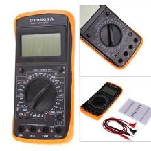 DT9205A Digital Multimeter LCD AC/DC Ammeter Resistance Capacitance Transistor Tester Diagnostic-tool Electronic multi meter