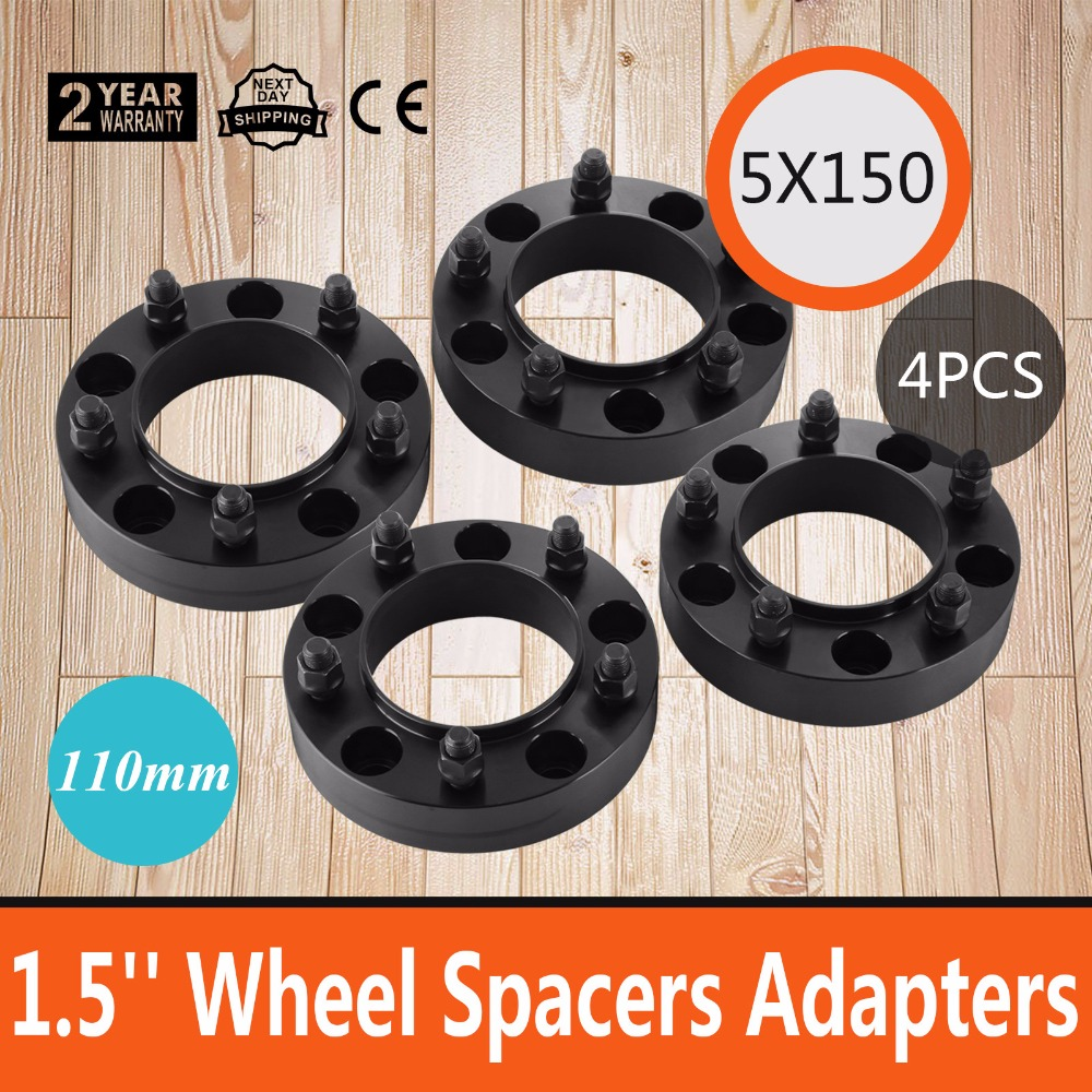 Toyota 5 x150 1.50 ( 38 MM ) Thick Black Hubcentric Wheel Spacers Adapter for Toyota Tundra 2007-2016 Hub Bore 110mm 14 x1.5 St декор kerama marazzi гамма nt a54 2882 tea зеленый 8 5x28 5