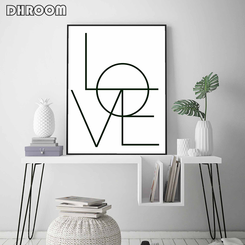 HTB1InvzKwHqK1RjSZFPq6AwapXav Sketch Wall Art Line Drawing Print Minimalist Simple Fashion Canvas Poster Black White Painting Love Quote Wall Picture Decor