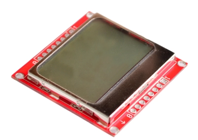 LCD Module Display Monitor White Backlight Adapter PCB 84*48 84x48 5110 Screen For Arduino Controller 3.3V Dot Matrix Digital