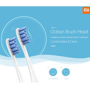 Oclean SE / One 2PCS Replacement Brush Heads For Automatic Electric Sonic Toothbrush Deep Cleaning Tooth Brush Heads