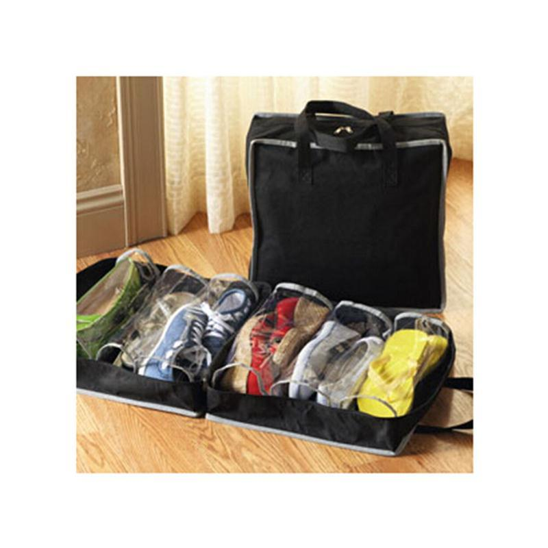 Portable Shoes Storage Travel Bag Shoes Case Organizer Tote Bag Special Summer Sale Storage Boxes & Bins