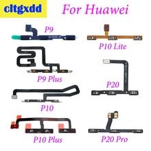 cltgxdd For Huawei P9 P9plus P10 P10plus P10Lite P20 P20Pro Power On Off Volume Up Down Button Key Flex Cable Replacement Parts