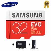 SAMSUNG Micro SD карта 32 Гб карта памяти Carte Micro sd Tarjeta Micro Sd 64 Гб 128 ГБ 256 ГБ C10 4KHD TF для мобильного телефона с SDHCSDXC