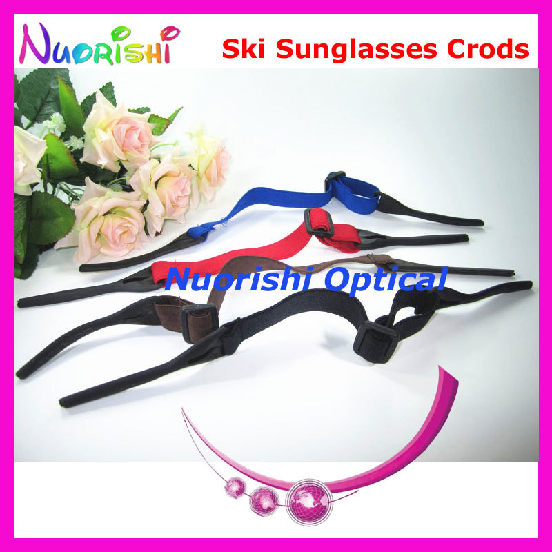 10pcs Professional Skiing Bike Cycling Sports Elastic Eyewear Glasses Sunglass String Chain Cords Lanyard Free Shipping L659