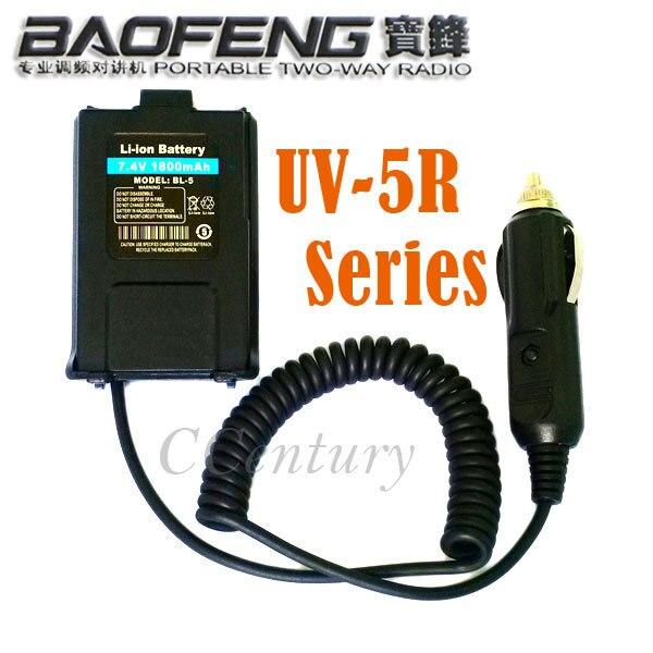 bilder für 12 V BAOFENG UV-5R Auto Charger Battery Eliminator Adapter Für Tragbare Radio UV-5R UV-5RE Plus UV-5RA Walkie Talkie Zubehör