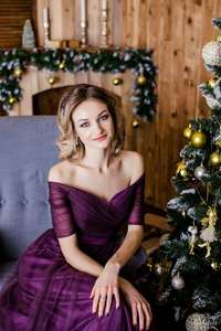 Image 1 - יופי אמילי ארוך סגול אדום אפור ערב שמלות 2019 אונליין Off כתף חצי שרוול Vestido דה dama de honra