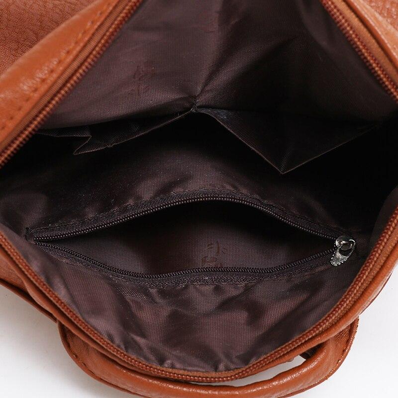Tuladuo Brand Fashion Women Backpacks Fur Ball School Bags High Quality PU Leather Backpacks Teenage Girls Double Zipper Bags