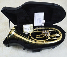 Bb Baritone Three Valves in Lacquer Finish With ABS case Musical font b instruments b font