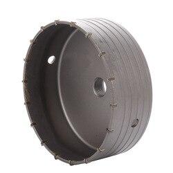160mm Hollow Core wiertarka aluminiowa piła walcowa do betonowa cegła ścienna narzędzia do obróbki drewna|Wiertła|   -